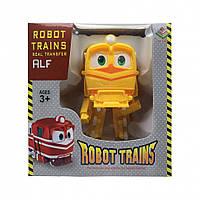 Игрушка Трансформер DT-005 Robot Trains (Желтый Альф)