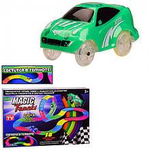 """Дитячий іграшковий автотрек """"Magic Track"""" 6688-76 зі світловими ефектами"""