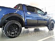 Молдінги - накладки на двері Ford Ranger 2011-