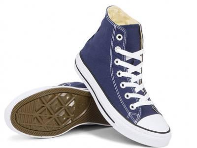 Кеди Converse Style All Star Сині високі (38 р.) Тотальний розпродаж
