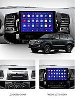 Штатна Android Магнітола на Toyota Fortuner 1 2008-2014 Model P6/P8-solution (М-ТФ1-9-Р8), фото 1