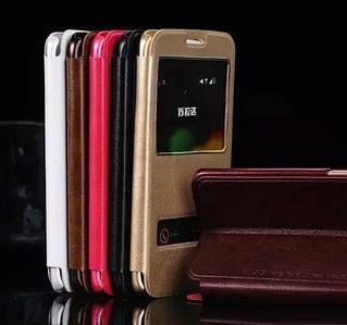 "Samsung G928 EDGE+ PLUS Оригинальный чехол книжка НАТУРАЛЬНАЯ КОЖА SMART чехол книжка для телефона ""SLD"""