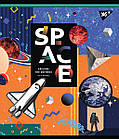 Зошит А5 18 Лін. YES Space Abstract, 10 шт/уп., фото 2