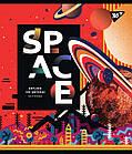 Зошит А5 18 Лін. YES Space Abstract, 10 шт/уп., фото 4