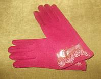 Зимние стильные женские перчатки для сенсорных экранов