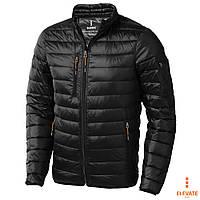 Лёгкий пуховик на молнии, куртка стёганная Elevate Scotia размер M, оранжевая, синяя, чёрная