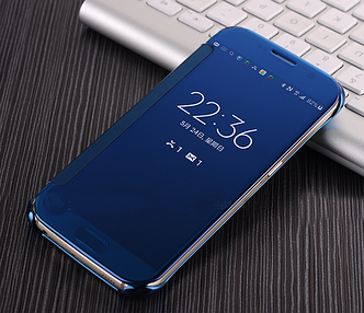 "Samsung G928 EDGE+ PLUS Оригинальный SMART S VIEW COVER чехол книжка для телефона ""SAMS COVER copy"""