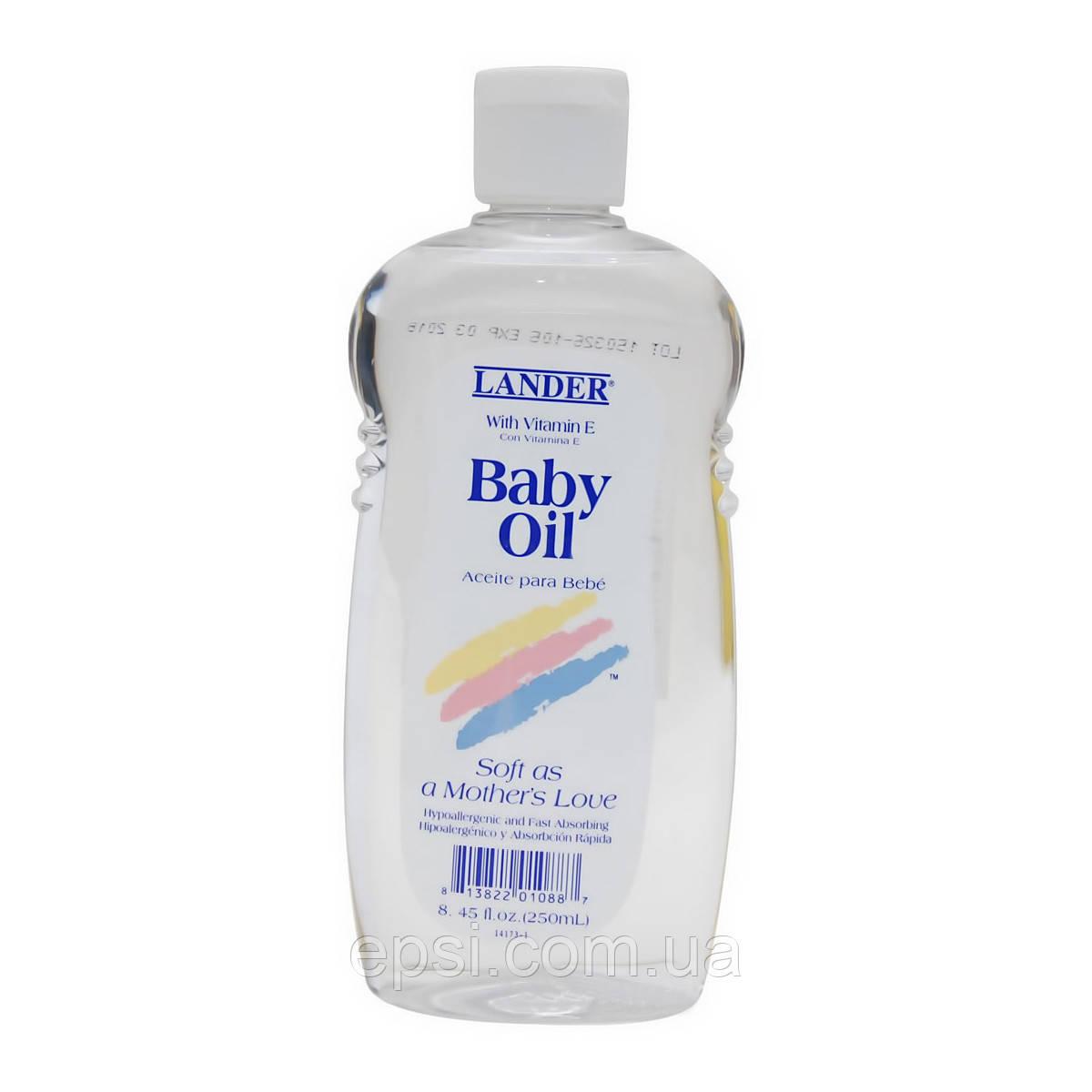 Дитяче масло для тіла Lander Baby Oil with vitamin E, 250 мл