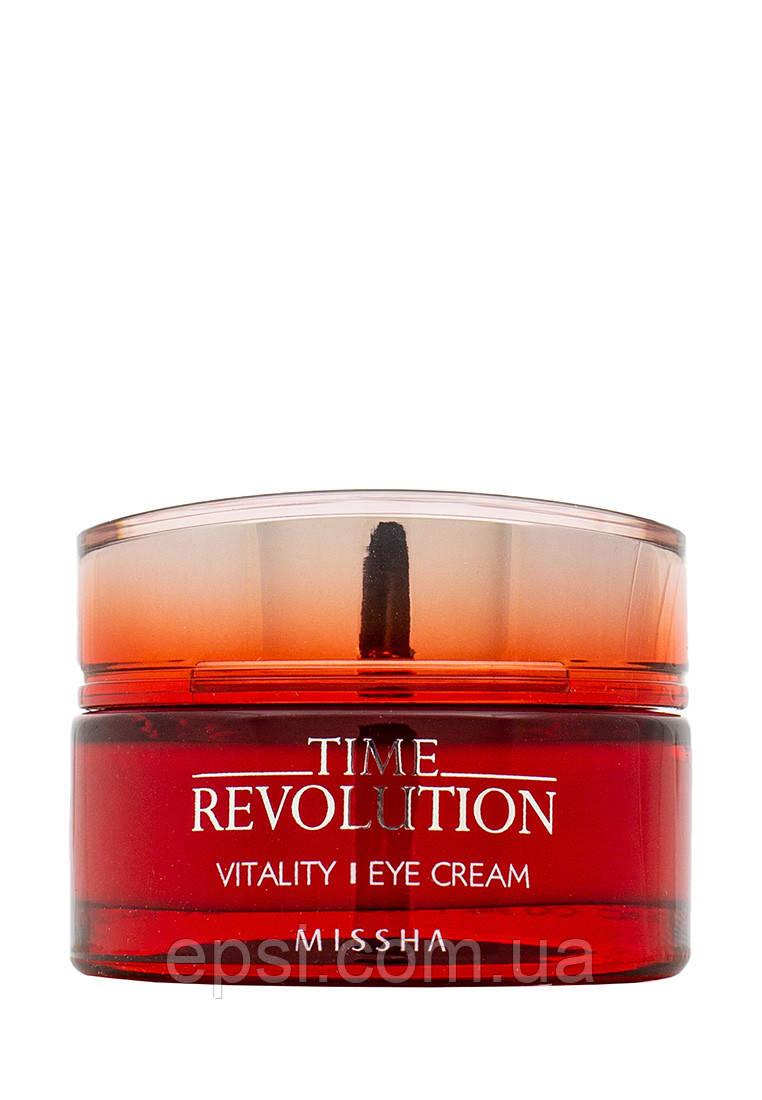 Антивозрастной крем для зоны около глаз Missha Time Revolution Vitality, 25 мл