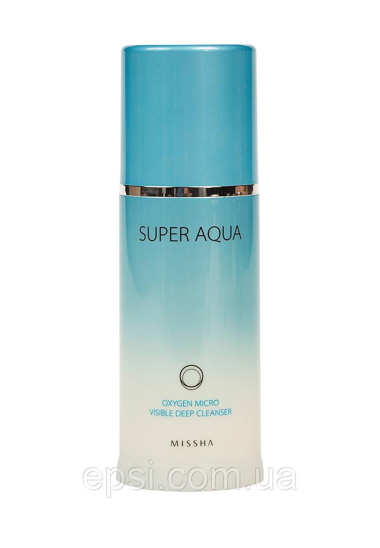 Киснева пінка для вмивання Missha Super Aqua , 120 мл
