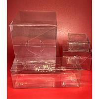 Сборные коробки из полимерной пленки. 10х10х3см.200мкр