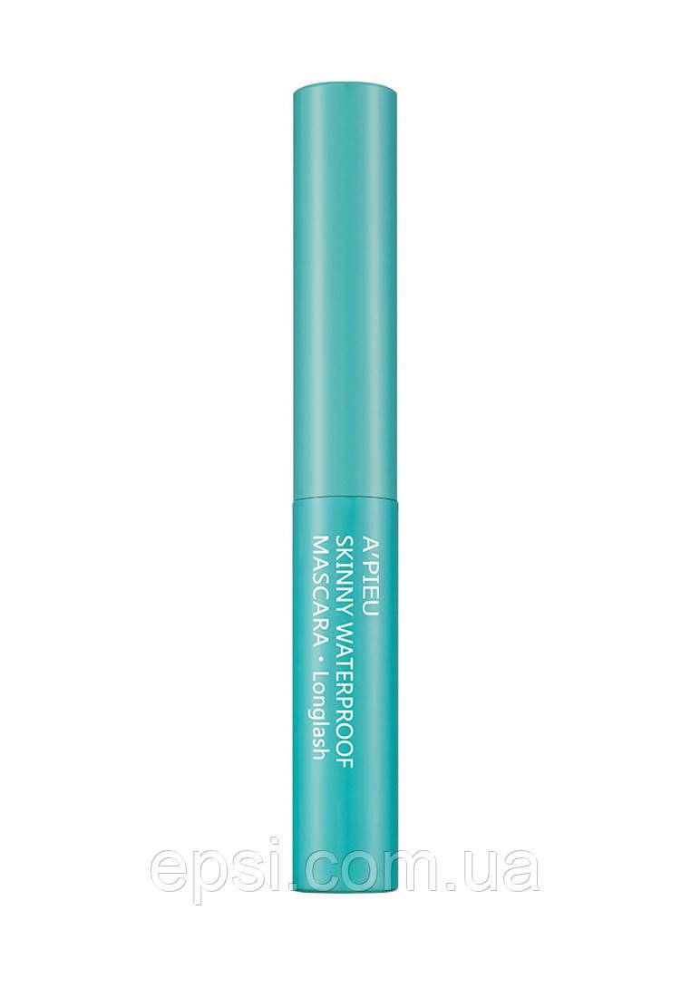 Водостойкая тушь для ресниц Apieu Skinny Water Proof Mascara Long Lash, 4 мл