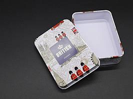Металеві подарункові коробочки. 9х7х2см