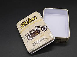 Металлические подарочные коробочки. 9х7х2см