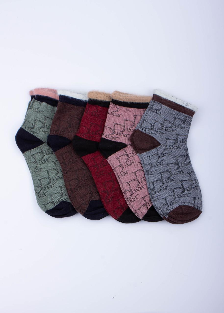 Шкарпетки жіночі, високі з візерунком р. 36-40