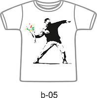 Футболка с рисунком формата А4