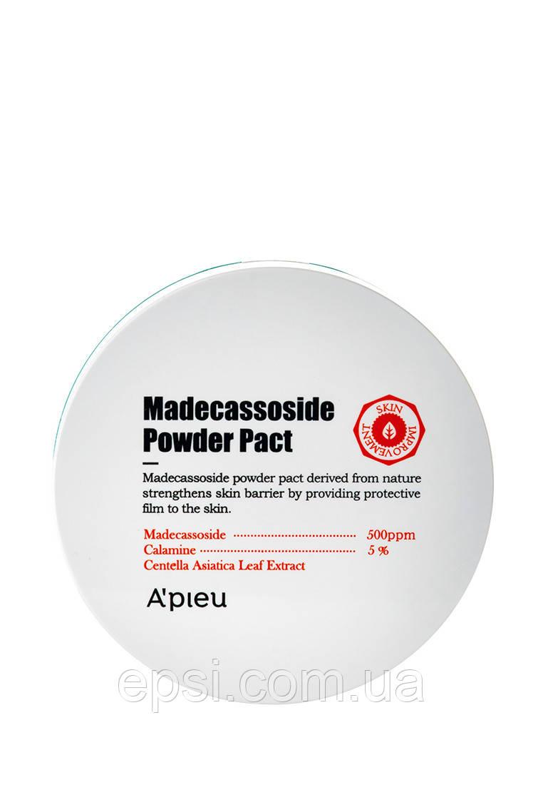 Противовоспалительная компактная пудра Apieu Madecassoside Powder Pact, 6 г