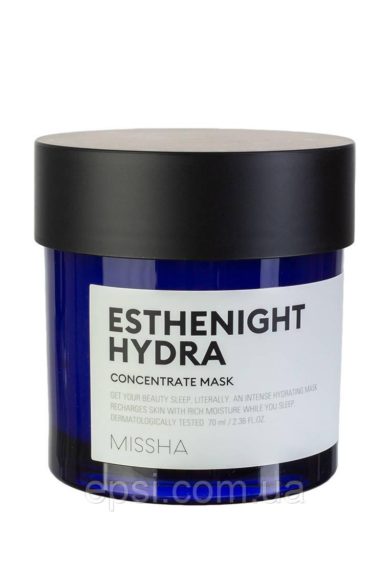 Ночная маска для лица Missha Esthenight Hydra Concentrate Mask, 70 мл