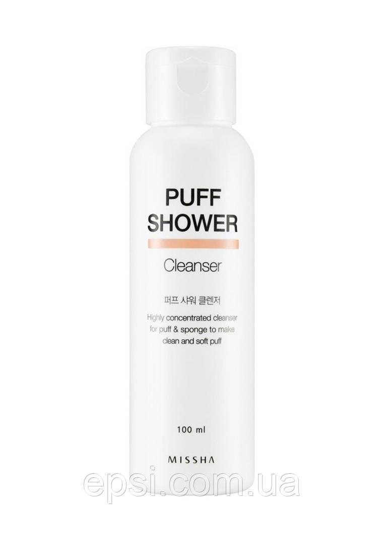 Средство для очищения спонжей Missha Puff Shower Cleanser, 100 мл
