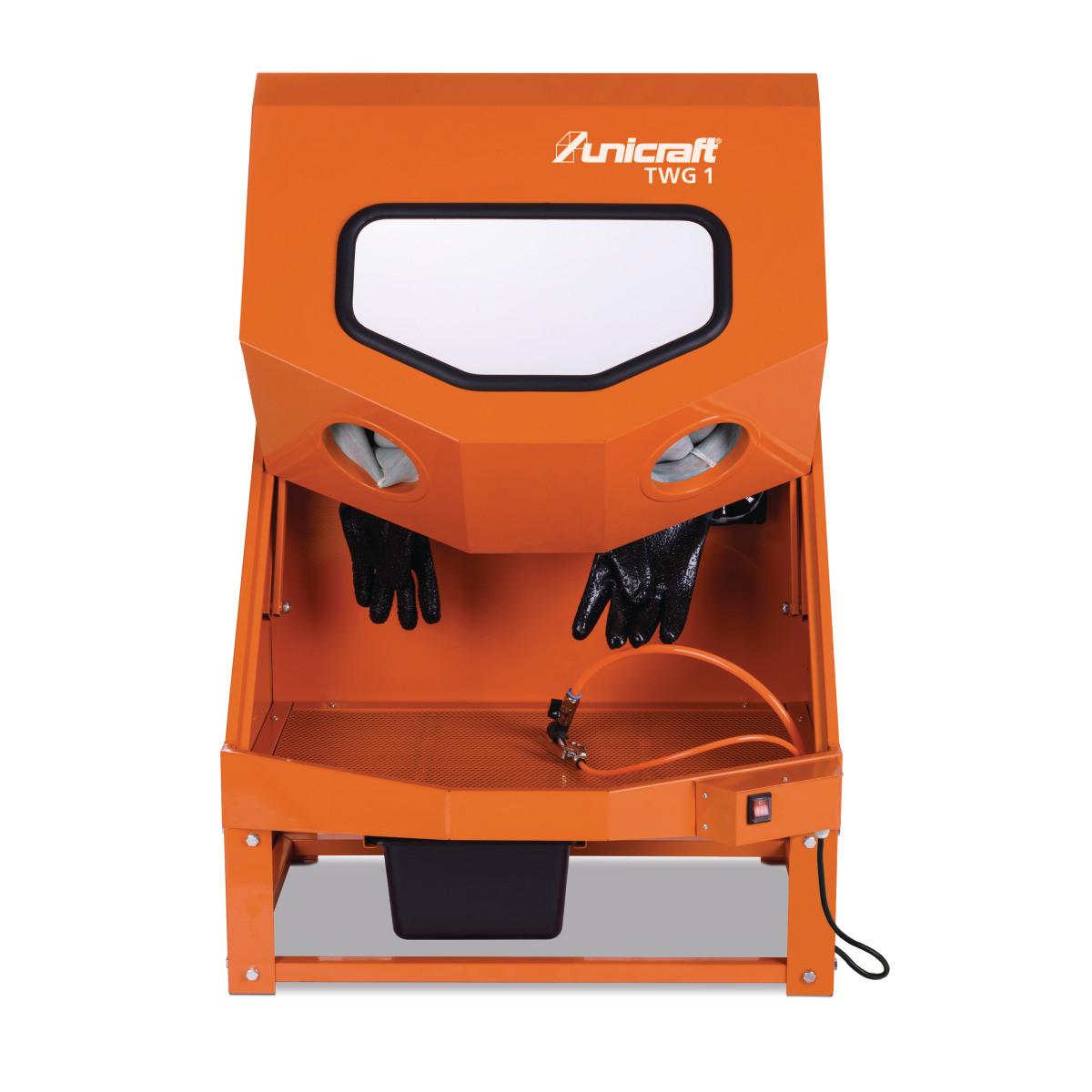 Установка для миття деталей пневматична Unicraft TWG 1