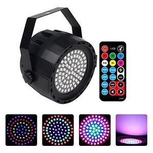 Світлодіодний проектор EKOOT PY-78 LED DISCO миготливий стробоскоп проекція диско пульт ДУ