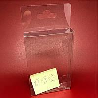 Упаковка из пластика с европодвесом. 12х8х2см.200мкр