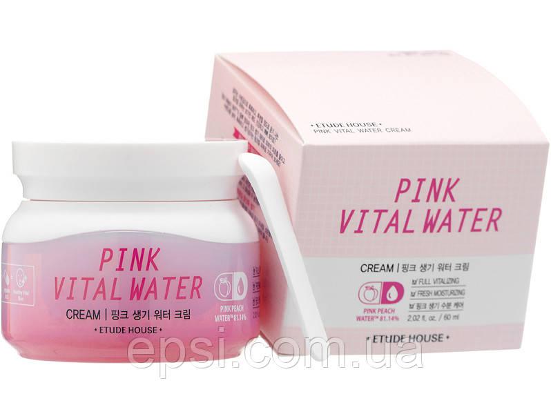 Крем для лица Etude House Pink Vital, 60 мл