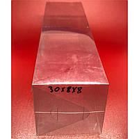 Прозрачные пластиковые упаковки. 30х8х8см.200мкр