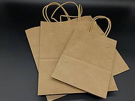 Крафт пакеты. 26х15х26см