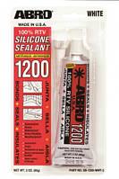 Герметик силиконовый для стекол белый (85г) Abro SS-1200W