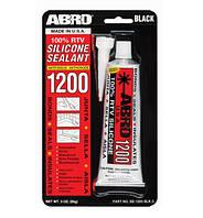 Герметик силиконовый для стекол черный (85г) Abro SS-1200BL