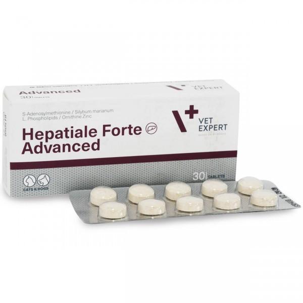Гепатиале Форте Адвансед 30 таб (HEPATIALE FORTE ADVANSED VETEXPERT гепатопротектор для собак и кошек, 30 табл