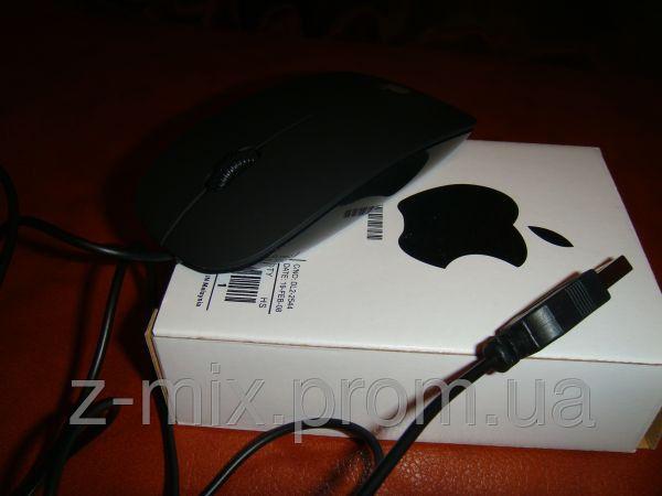 Проводная лазерная мышка с логотипом apple белого цвета,Киев - Интернет магазин X-lady в Киеве