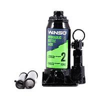 Домкрат гідравлічний WINSO, телескопічний, 2т, 148-278мм, пластиковий кейс (170210)