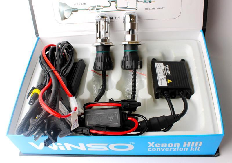 Комплект біксенону H4 WINSO BI-XENON SET 4300K 35W 85V (744430)