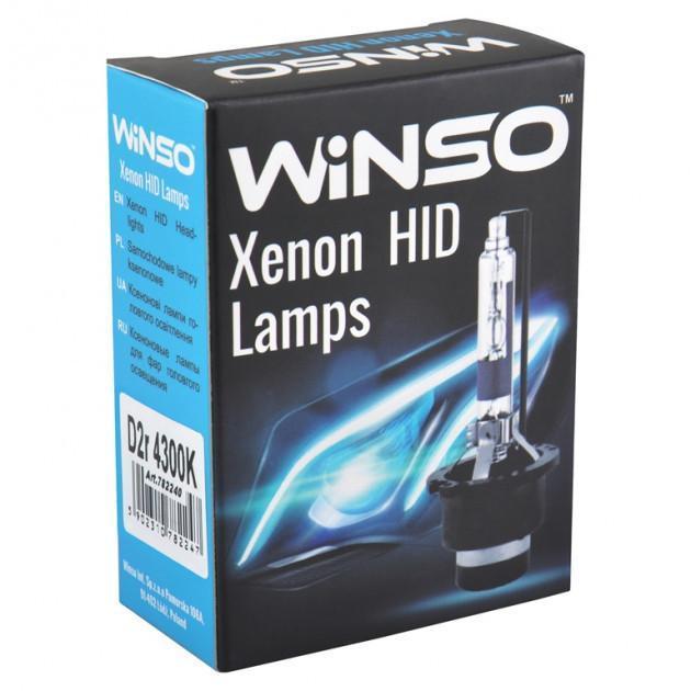 Ксеноновая лампа WINSO XENON D2R 4300K 85V 35W 2шт. (782240)