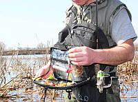 Рюкзак-слинг РыбZak 1.0  для ходовой  рыбалки