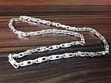 Срібний ланцюжок Фібо (Fibo), 55 см., 45 гр., фото 2