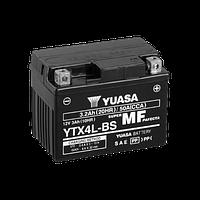 Мото Акумулятор Yuasa 12V 3Ah MF VRLA Battery AGM YTX4L-BS (сухозаряджений) (-/+)