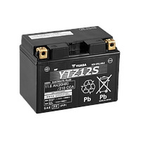 Мото Акумулятор Yuasa 12V 11.6Ah High Performance MF VRLA Battery YTZ12 S (GEL) (+/-)