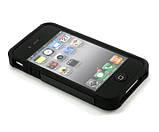 Протиударний бампер Spigen для Apple iPhone 4/4s Black, фото 3