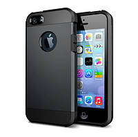 Противоударный бампер Spigen для Apple iPhone 4/4s Black