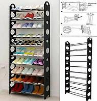 Полка для обуви SHOE RACK 8060(10 полок, 30 пар) ск2