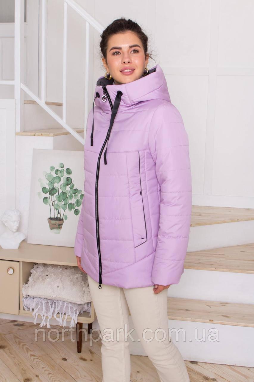 Жіноча універсальна демісезонна куртка Дн-6, лілова