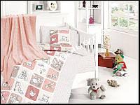 Постельное белье детское с вязаным покрывалам First Choice бамбук Luci