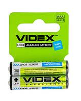Батарейки VIDEX Excellent AAA LR03 Alkaline 1.5V