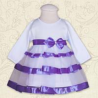 """Плаття BetiS """"Маленька Леді """" д.р. Фіолетовий Інтерлок 27071705 Зріст 86"""
