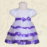 """Плаття BetiS """"Маленька Леді"""" к. р. Фіолетовий Кулір 27072153 Зріст 62"""