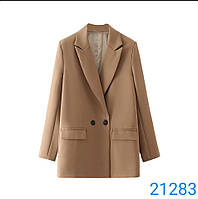 Піджак костюмка для дівчат оверсайз розмір 42-48,колір уточнюйте при замовленні