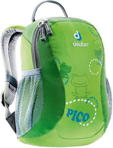 Детский яркий рюкзачек DEUTER Pico 36043 004 зеленый